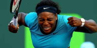 Serena Williams grand slam Roland Garros Getty